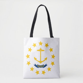 Rhode Island Flag Tote Bag