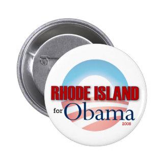 RHODE ISLAND for Obama 6 Cm Round Badge