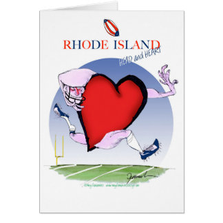 rhode island head heart, tony fernandes card