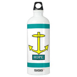 Rhode Island Hope Anchor Water Bottle