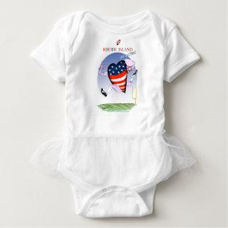 rhode island loud and proud, tony fernandes baby bodysuit