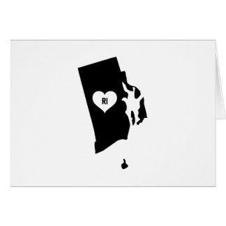 Rhode Island Love Card