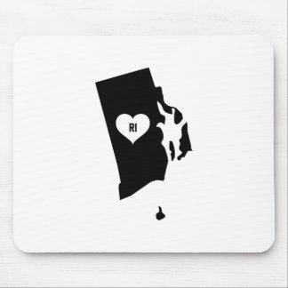 Rhode Island Love Mouse Pad