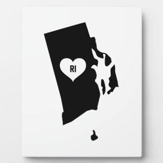 Rhode Island Love Plaque