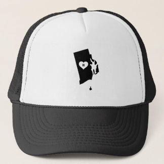 Rhode Island Love Trucker Hat
