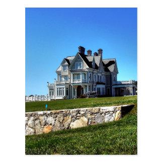 Rhode Island, Newport Mansions - Postcard