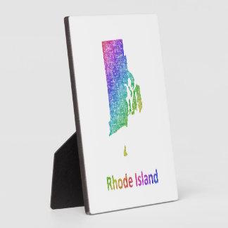 Rhode Island Plaque