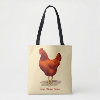 Rhode Island Red Hen Tote Bag