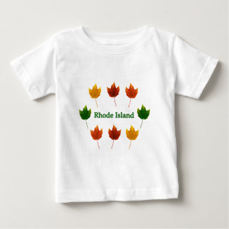Rhode Island (red maple leaves) Baby T-Shirt