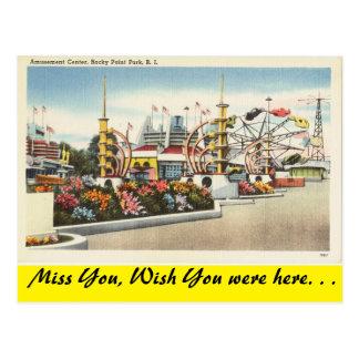 Rhode Island, Rocky Point Park Postcard