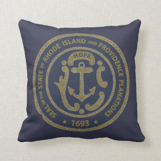 Rhode Island Seal Cushion