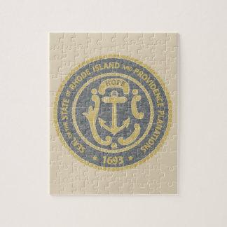 Rhode Island Seal Jigsaw Puzzle