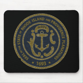 Rhode Island Seal Mouse Pad