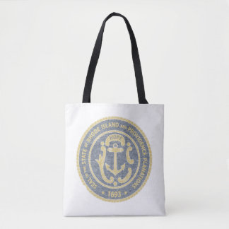 Rhode Island Seal Tote Bag
