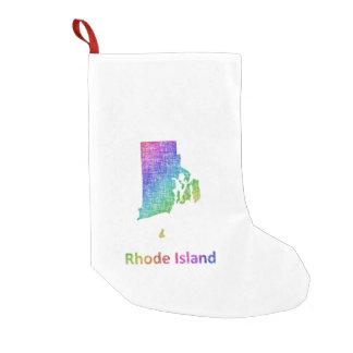 Rhode Island Small Christmas Stocking