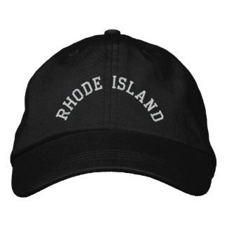 Rhode Island State Embroidered Embroidered Hat