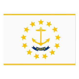 Rhode Island State Flag Business Cards