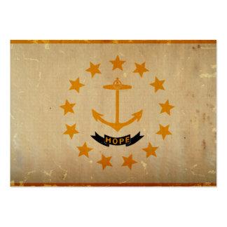 Rhode Island State Flag VINTAGE Business Cards