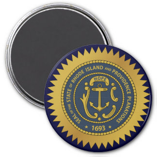 Rhode Island State Seal Magnet