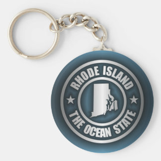 Rhode Island Steel (B) Key Ring
