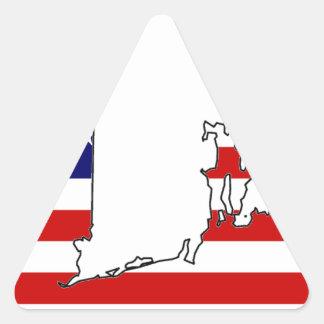 RHODE ISLAND TRIANGLE STICKER
