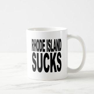 Rhode Island Sucks Coffee Mug
