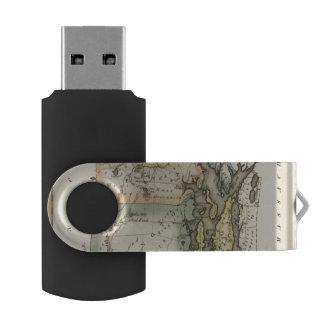 Rhode Island Swivel USB 2.0 Flash Drive