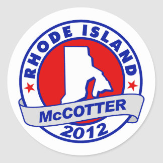 Rhode Island Thad McCotter Stickers