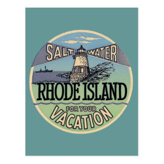 Rhode Island Vintage Travel Postcards