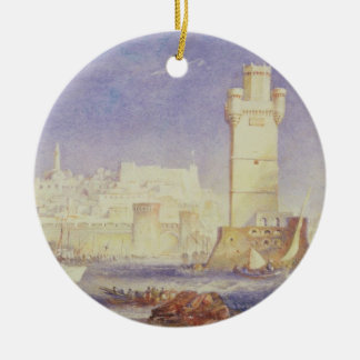 Rhodes, c.1823-24 (w/c & bodycolour on paper) ceramic ornament