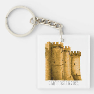 Rhodes' Castle Key Ring