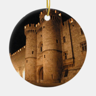 Rhodes  Greece angie Ceramic Ornament