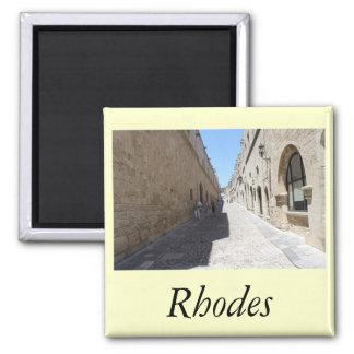 Rhodes Square Magnet
