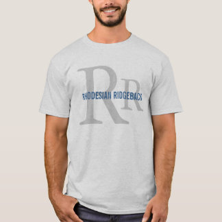 Rhodesian Ridgeback Breed Monogram T-Shirt