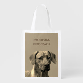 Rhodesian Ridgeback case Reusable Grocery Bag