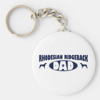 Rhodesian Ridgeback Dad Key Ring