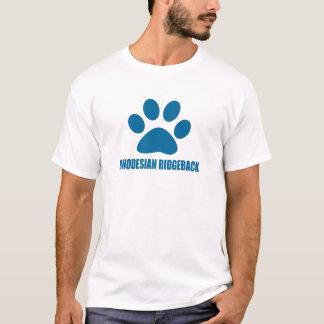 RHODESIAN RIDGEBACK DOG DESIGNS T-Shirt