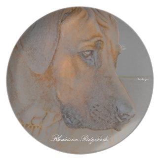 Rhodesian Ridgeback Head Plate