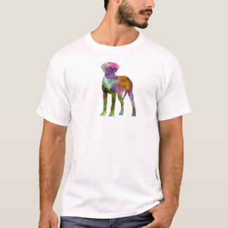 Rhodesian Ridgeback in watercolor T-Shirt