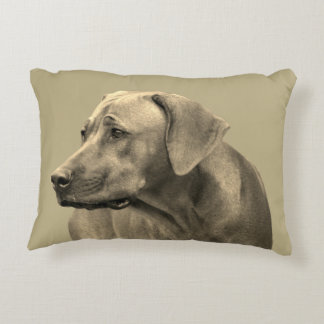Rhodesian Ridgeback kiss Decorative Cushion