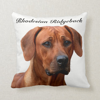 Rhodesian Ridgeback kissing Cushion