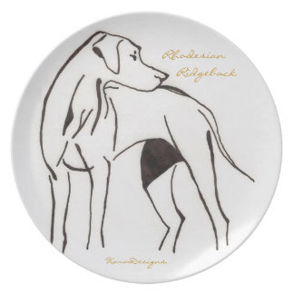 Rhodesian Ridgeback Plate