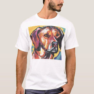 Rhodesian Ridgeback Pop Art T Shirt