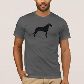 Rhodesian Ridgeback Silhouette T-Shirt