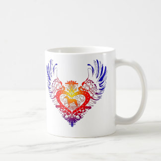 Rhodesian Ridgeback Winged Heart Coffee Mug
