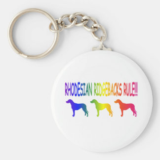 Rhodesian Ridgebacks Key Ring