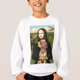 RhodesianRidgeback 1 - Mona Lisa Sweatshirt