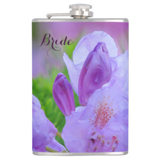Rhododendron After the Rain BRIDE Flask