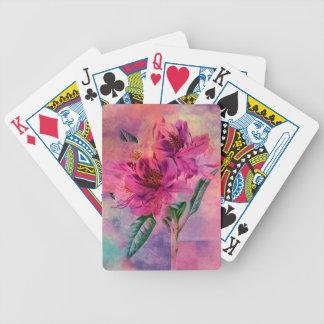 RHODODENDRON BICYCLE PLAYING CARDS
