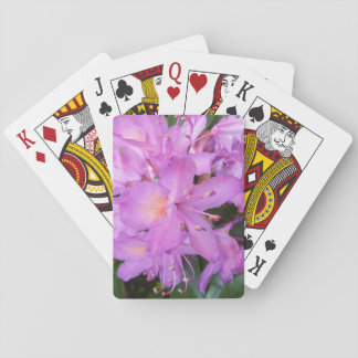 Rhododendron Flower Playing Cards